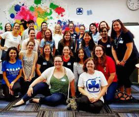 The wonderful ladies of GGC